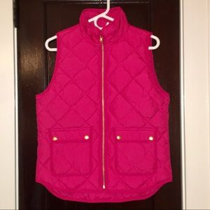 nwt jcrew excursion quilted down vest b0109